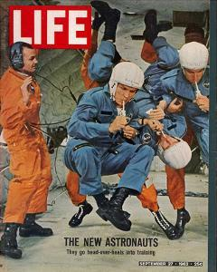 LIFE the new Astronauts 1963