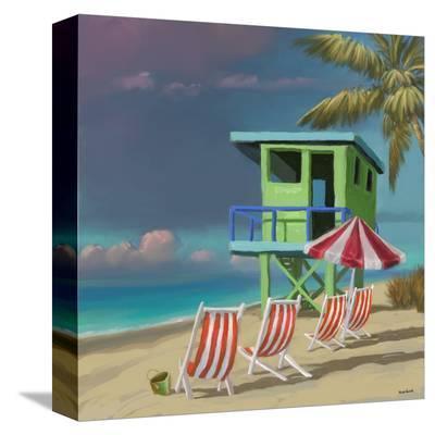 Life Tower 02-Kurt Novak-Stretched Canvas Print