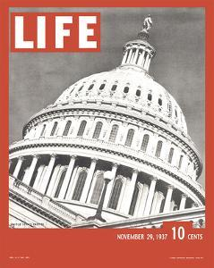 LIFE United States Capitol 1937