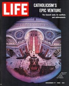LIFE Vatican Council ends 1965