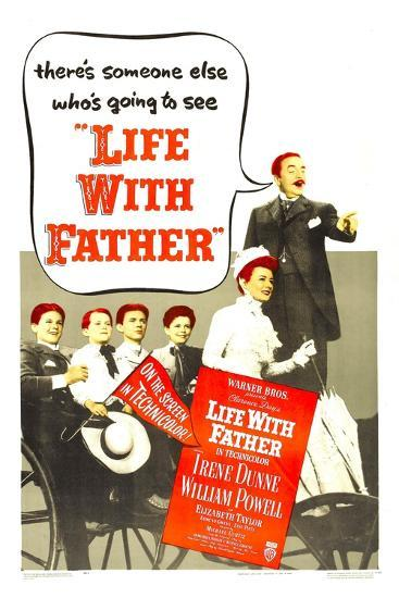Life with Father--Art Print