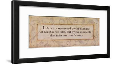 Life-Stephanie Marrott-Framed Art Print