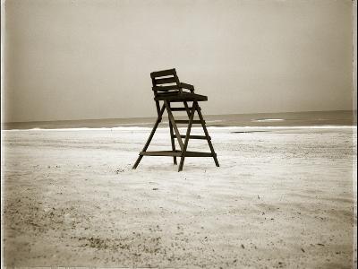 Lifeguard Chair-John Kuss-Photographic Print