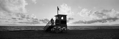 Lifeguard Hut on the Beach, 22nd St. Lifeguard Station, Redondo Beach, Los Angeles County