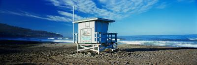 Lifeguard Hut on the Beach, Torrance Beach, Torrance, Los Angeles County, California, USA--Photographic Print