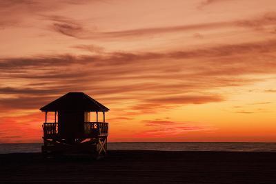 Lifeguard Post-Buena Vista Images-Photographic Print