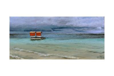 Lifeguard Station, Mauritius, 2008-Trevor Neal-Giclee Print