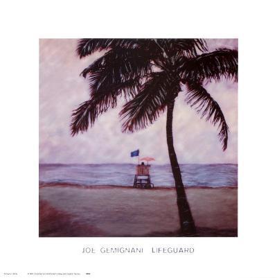 Lifeguard-Joe Gemignani-Art Print