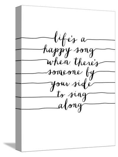 Lifes a Happy Song-Brett Wilson-Stretched Canvas Print