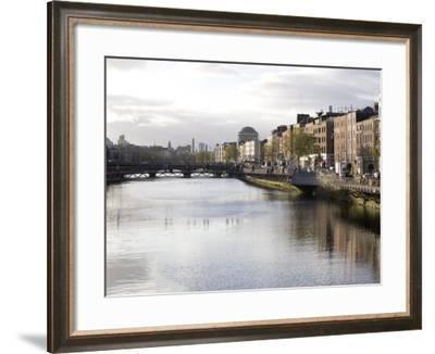 Liffey River, Dublin, Republic of Ireland, Europe-Oliviero Olivieri-Framed Photographic Print