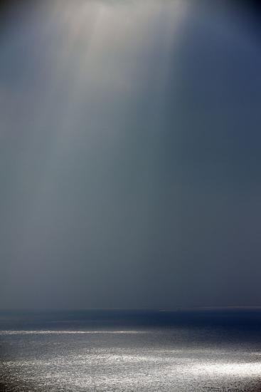 Light and Shade on the Atlantic Ocean in Winter--Photographic Print
