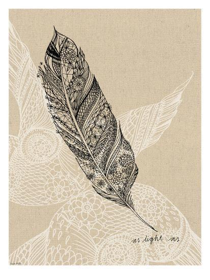 Light As A Feather-Paula Mills-Art Print