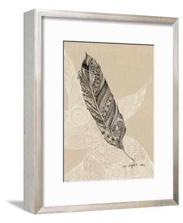 Light As A Feather-Paula Mills-Framed Art Print
