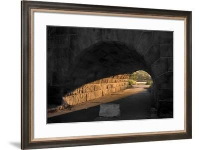 Light At The End Of The Tunnel-NjR Photos-Framed Giclee Print