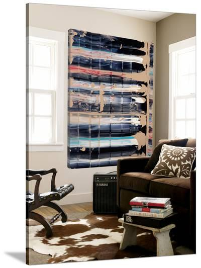 Light Blue, Red, Black-Jeff Iorillo-Loft Art