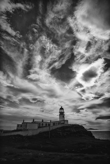 Light Change Over Lighthouse-Rory Garforth-Photographic Print