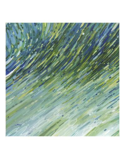 Light Glimmering Waves (left)-Margaret Juul-Art Print