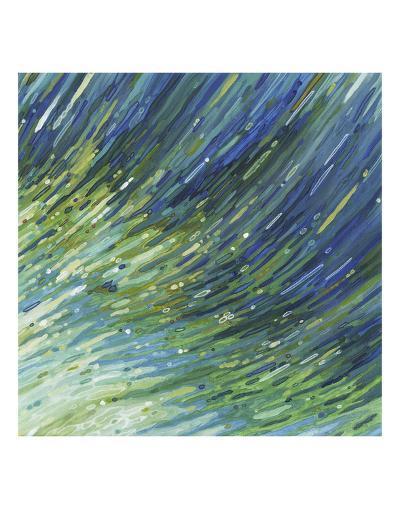 Light Glimmering Waves (right)-Margaret Juul-Art Print