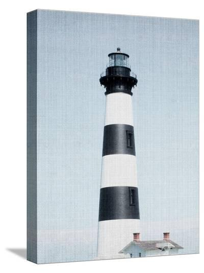Light House Striped-LILA X LOLA-Stretched Canvas Print
