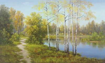 Light in the Forest-Slava-Art Print