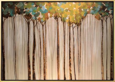 Light in the Leaves-Kari Taylor-Framed Canvas Print