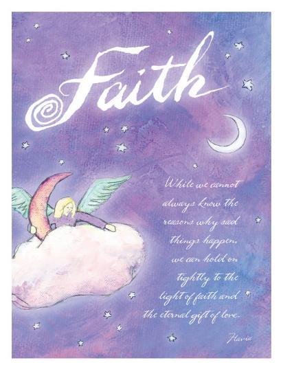 Light of Faith-Flavia Weedn-Giclee Print
