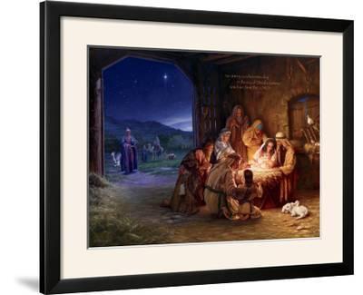 Light of the World - Saviour-Mark Missman-Framed Photographic Print
