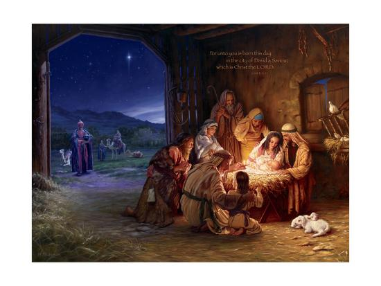 Light of the World - Saviour-Mark Missman-Art Print