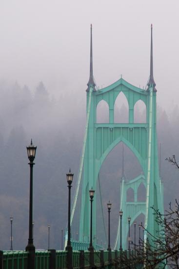 Light on the Bridge II-Erin Berzel-Photographic Print