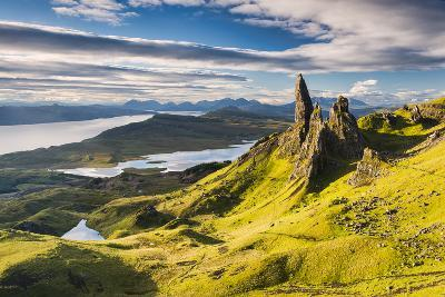 Light on the Storr-Michael Blanchette-Photographic Print