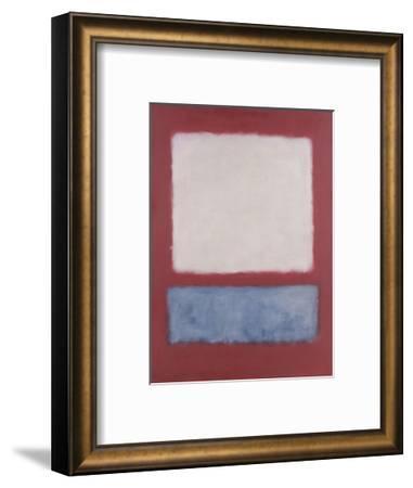 Light over Gray, 1956-Mark Rothko-Framed Art Print