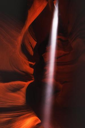 Light Pin Antelope Canyon Abstact Southwest Page Arizona Navajo-Vincent James-Photographic Print