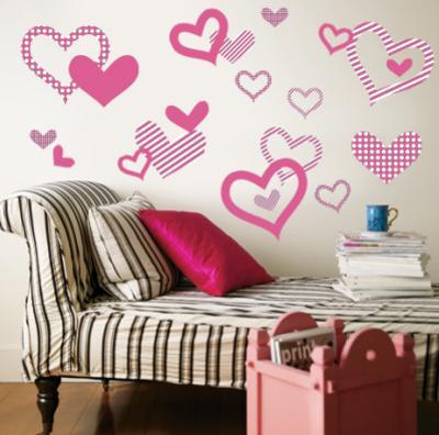 Light Pink Pattern Hearts