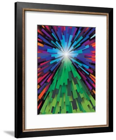 Light The Tree-Joe Van Wetering-Framed Art Print