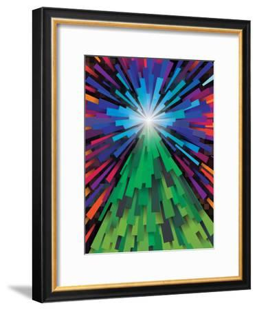 Light The Tree-Joe Van Wetering-Framed Art Print