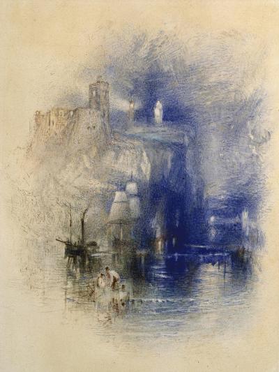 Light-Towers of La Hève, C.1844-J^ M^ W^ Turner-Giclee Print