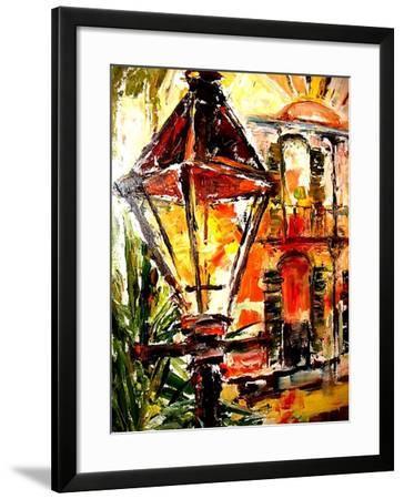 Light up the French Quarter!-Diane Millsap-Framed Art Print