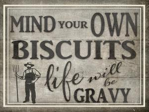 Mind Your Biscuits BK by LightBoxJournal