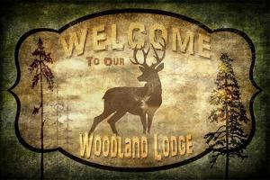 Welcome Lodge Deer by LightBoxJournal