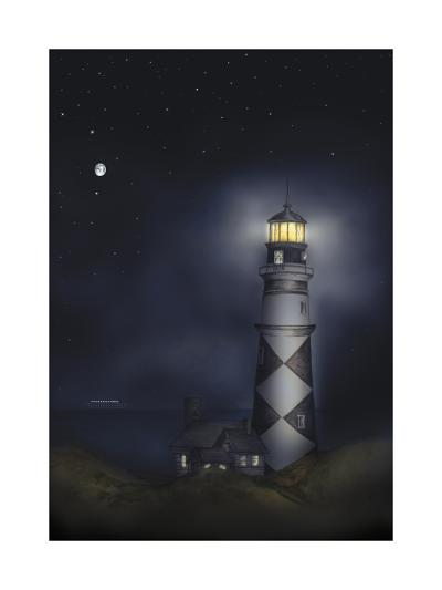 Lighthouse 01B-Maria Trad-Giclee Print