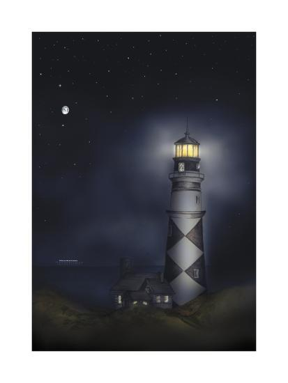 Lighthouse 01B-Maria Trad-Giclee Print