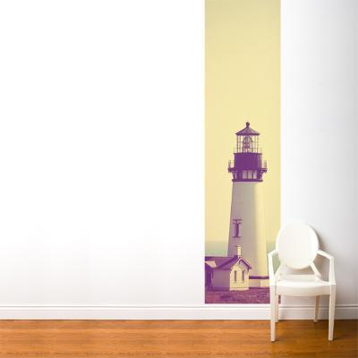 Lighthouse and Mist--Wall Mural