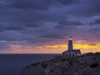 Lighthouse at Cap De Capdepera, Daybreak, Majorca, Spain-Rainer Mirau-Photographic Print