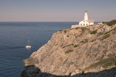 Lighthouse at Cap De Capdepera, Near Cala Ratjada, Majorca (Mallorca)-Markus Lange-Photographic Print