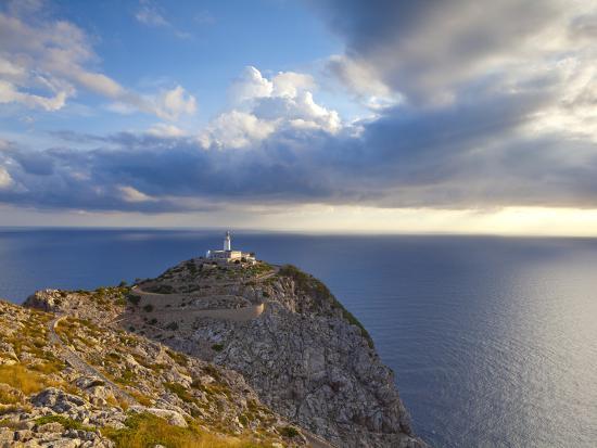 Lighthouse at Cap De Formentor, Mallorca, Balearic Islands, Spain-Doug Pearson-Photographic Print
