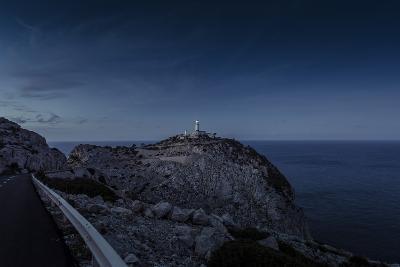 Lighthouse at Cap Formentor, Majorca-Jorg Simanowski-Photographic Print