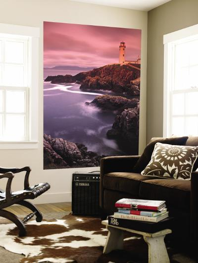 Lighthouse at Fanad Head, Donegal Peninsula, Co. Donegal, Ireland-Doug Pearson-Wall Mural