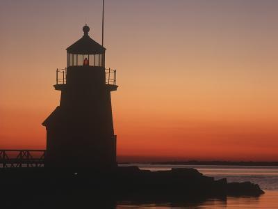 Lighthouse at Sunrise-Design Pics Inc-Photographic Print