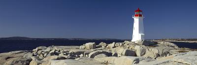 Lighthouse at the Coast, Peggy's Point Lighthouse, Peggy's Cove, Halifax Regional Municipality, ...--Photographic Print