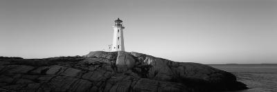 Lighthouse at the Coast, Peggy's Point Lighthouse, Peggy's Cove, Halifax Regional Municipality--Photographic Print